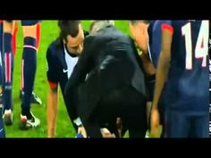 David Luiz Terrible TACKLE on Zlatan Ibrahimovic ( Injury ) - PSG vs Chelsea 2014 HD