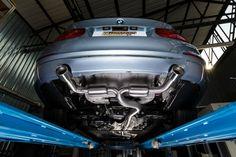 BMW Serie 3 F30 ActiveHybrid 335i (225 kW) 2012. Flex + Centre Silencer and duplex rear silencer