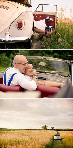 Vintage Verliebte Hochzeit zu zweit von Ela Cle Photography