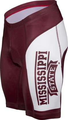 NCAA Men's Adrenaline Promotions Mississippi State Cycling Shorts