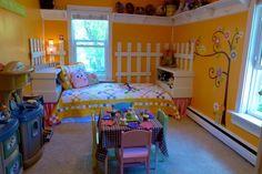 Little Girls Owl Bedroom