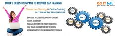 Go IT Soft is a Leading IT Online Training for the SAP IS OIL&GAS & SAP IS RETAIL Online Training and also for the Other SAP Technical & Functional Modules. Hands-on Interactive SAP Online Training available 24/7!