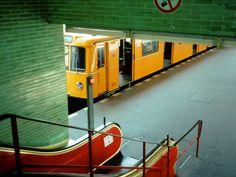 U-Bahn, Berlin Corporate Identity Design, Berlin Ick Liebe Dir, Berlin Photography, Stunning Photography, U Bahn Station, Bahn Berlin, Metro Subway, Berlin Photos, Berlin Travel