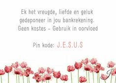 Afrikaans, Thoughts, Ideas