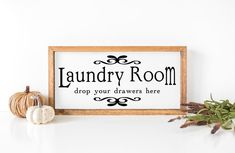 Laundry Room drop your drawers here/ Cut File/ Printable/ image 0