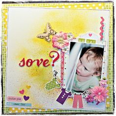 #scrapbooking, DT layout made for Scrap-Perra