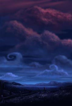 Night Sky by bramLeech on deviantART
