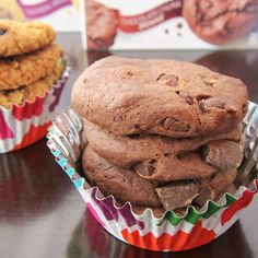 Cybele's Free to Eat Cookies (Chocolate Chunk Brownie shown) - dairy-free, egg-free, gluten-free, nut-free, peanut-free, soy-free, and vegan!