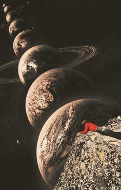 Ayham Jabr Collage Art