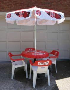 Coke Table and Chairs from 1996 Atlanta Olympics   eBay