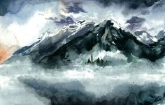Foggy by Sacrilence on DeviantArt Beautyful Painting from an Awesome aritist.