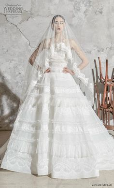 Zuhair Murad Frühjahr/Sommer 2020 Bridal - Fashion Shows Wedding Dress Trends, Wedding Dress Styles, Designer Wedding Dresses, Dress Wedding, Wedding App, Wedding Shot, Wedding Ideas, Modest Wedding, Bridal Gown