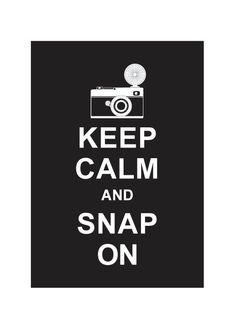 Keep Calm and Snap On  Black  Wedding by simplygiftsonline on Etsy, $10.80