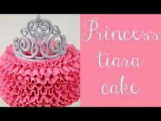 Cómo hacer ruffle cakes o tartas con volantes - Tutorial - María Lunarillos | tienda & blog - YouTube