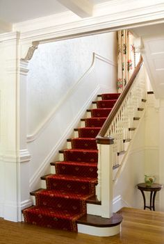 Newton, MA Historic Home Update - traditional - staircase - boston - Morse Constructions Inc.