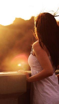 girl sunset 1080 x 1920 - Google zoeken
