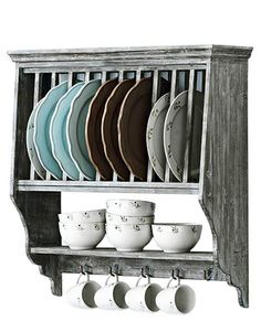 Would be an awesome dish rack since we are out of space in our cabinets because we don't have a pantry