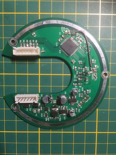 Newly made Motorprint for Sparta and Batavus e-bikes. Both are Dutch e-bikes and the whole pcb is home made and programmed