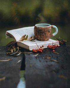 Coffee And Books, I Love Coffee, Coffee Art, Coffee Break, Hot Coffee, Coffee Photography, Autumn Photography, Creative Photography, Art Photography