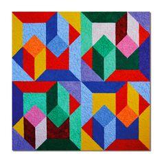 "Saatchi Online Artist Thomas Roth; Painting, ""Pattern-1"" #art"