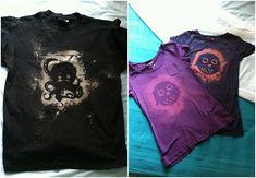 octopus owl unisex t-shirt dark colours men's woman's