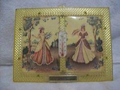 Vintage Framed Advertising Thermometer