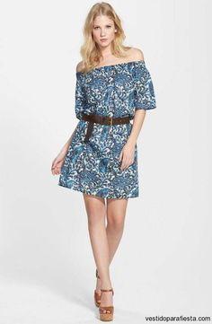 Vestidos cortos sin hombros de moda casual primavera 2015 - https://vestidoparafiesta.com/vestidos-cortos-sin-hombros-de-moda-casual-primavera-2015/