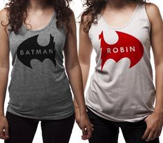 Put These Batman And Robin Shirts Together To Make a Dynamic Duo    I WANT