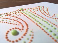 Letters & watercolor bubbles by Xavier Casalta on Behance.