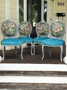 Dining Chairs - Unclear About Furniture? Some Tips On Furniture Buying And Care. French Dining Chairs, Cheap Dining Room Chairs, Scandinavian Dining Chairs, Mid Century Dining Chairs, Upholstered Dining Chairs, Cool Chairs, Side Chairs, Chaise Louis Xv, Cool Furniture