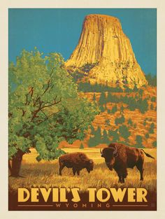Anderson Design Group – American Travel – Devil's Tower, Wyoming
