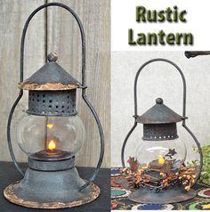 Rustic Lantern - Kruenpeeper Creek Country Gifts