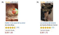 Escritora de novela: LA SOMBRA DEL DINERO, entre los 100 más vendidos