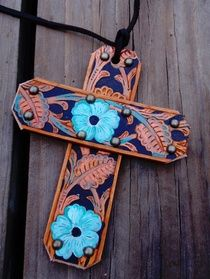 Saddle Cross show off your Faith any place!