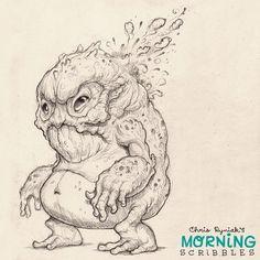 Ribbit... #morningscribbles | 출처: CHRIS RYNIAK