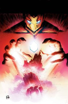 Uncanny Inhumans #14 - Iron Man by Ryan Stegman *