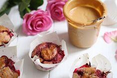 Erdnussmus-Himbeer-Muffins - veggi.es