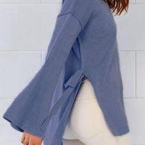 Cupshe Age Of Innocent High Low Bowknot Sweater