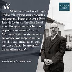 """""""Mi tercer amor tenía los ojos lindos..."""". - Martín Adán, La casa de cartón. Literatura Peruana"""