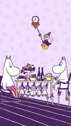 Moomin Wallpaper, Fairy Wallpaper, Iphone Wallpaper, Little My Moomin, Tove Jansson, Moomin Valley, Caricature, Fairy Tales, Geek Stuff