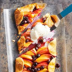 When you put fresh fruit in the starring role of your dessert recipe, there's little need for much added sugar. We sprinkle this pie with just a dusting of turbinado sugar for sparkly presentation and let the naturally sweet peaches shine.