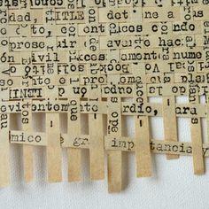 Weaving Text