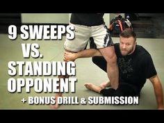 Jiu-Jitsu Techniques | 10 Answers for Ground Vs Standing - YouTube