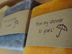 Custom labeled Bridal Shower Soap Favors or any occasion by PSJBoutique,$67.00