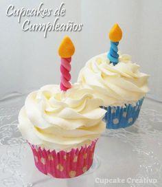 Cupcake Creativo: Cupcakes de Cumpleaños