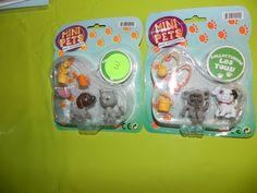 Ref CDP081 Mini pets avec accessoires. 3€