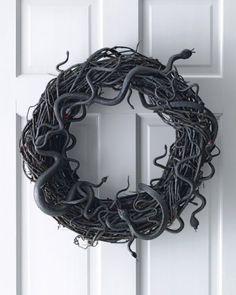 Halloween Snake Wreath                                                       …
