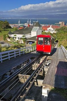 The Wellington Cable Car is a form of transportation in Wellington on the North Island of New Zealand.