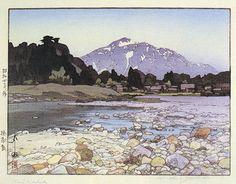 Kajiyashiki  by Hiroshi Yoshida, 1929