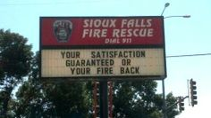 Funny pictures about Fire Rescue Slogan. Oh, and cool pics about Fire Rescue Slogan. Also, Fire Rescue Slogan photos. Firefighter Memes, Volunteer Firefighter Quotes, Firefighter Family, Funny Signs, Funny Memes, Hilarious Sayings, Funny Quotes, Hilarious Animals, 9gag Funny